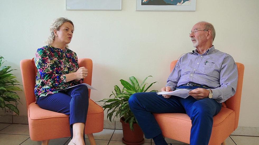 Gespräch mit AHK Präsident - Entrevista presidente de la AHK