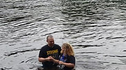 Anndria Foldy's Baptism at Camp Anderson July 5, 2019