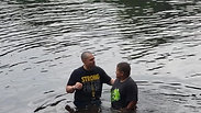 Jaiden Brown's Baptism at Camp Anderson July 5, 2019