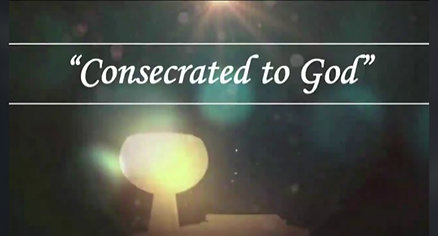 """Consecrated To God"" 12-27-20"