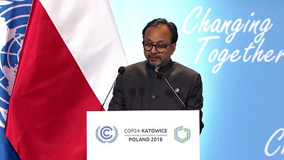 Vijay at the UN Climate Change Conference