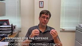 Preparing for the Defense - English