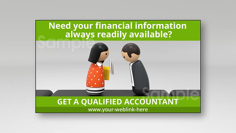 WAKSTER's Bright Light ACCOUNTANTS Image Ads