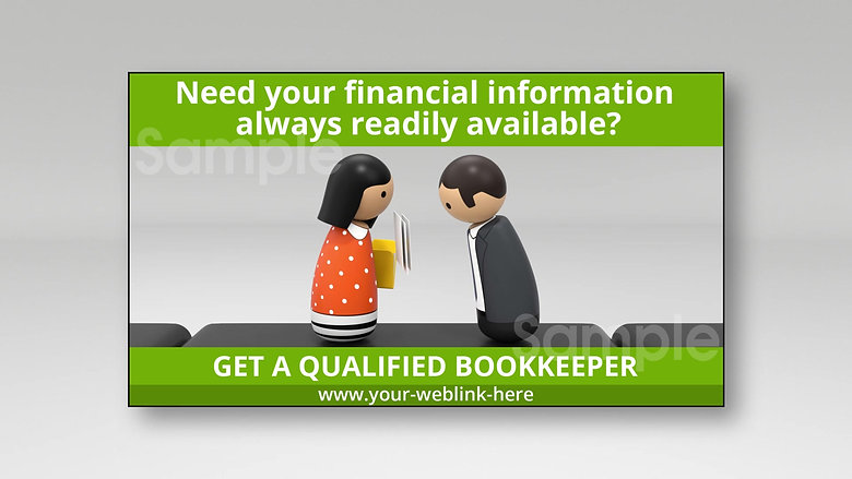 WAKSTER's Bright Light BOOKKEEPERS Image Ads