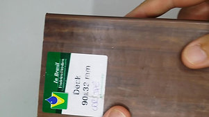 PERFIL FEMEA INBRASIL 90x32mm COR IPÊ