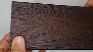 PERFIL FEMEA IBRASIL 90x32mm COR NOGUEIRA