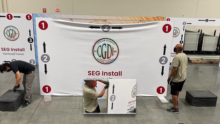 SEG Walls Install Help Videos
