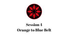 Orange to Blue Belt Session 4