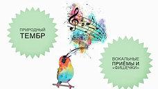 Природный Тембр, Твоя вокальная «ФИШКА»