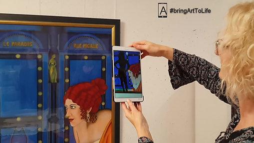 Eva Leopoldi - art repeated different - living pictures
