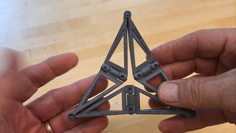 3D Twisty Triangles