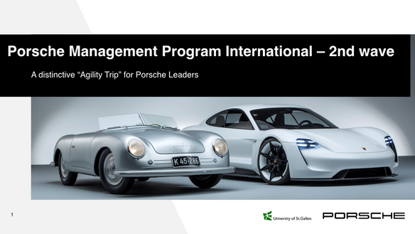 Porsche Management Program International