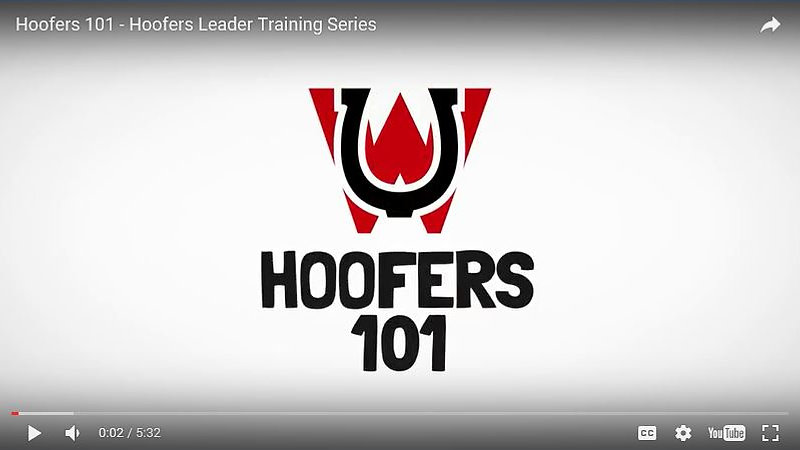 Hoofer 101