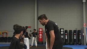 Master Peter Explains Our Kick Camp