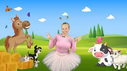 Animal ballet class