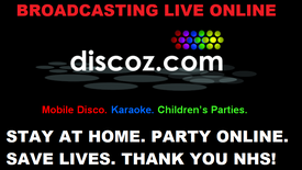 LIVE Discoz.com Saturday Night Disco with DJ Stuart! Recorded Live on Saturday 4th April 2020