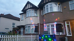 Clap For Our Carers Social-Distanced Street Party in Ruislip Manor with Discoz.com