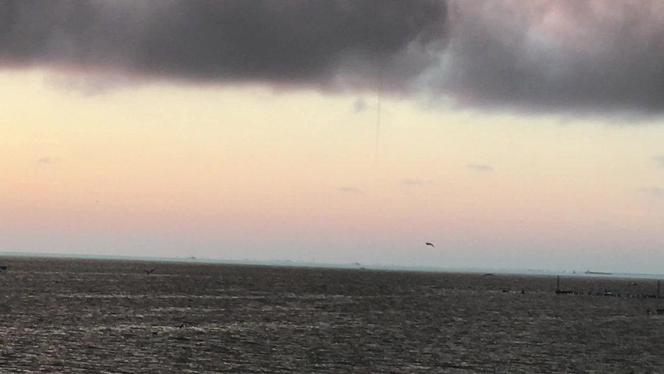 Galveston Bay Water Spout