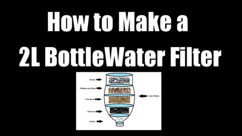 2L Bottle Water Filter