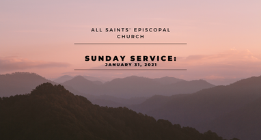 Sunday Service: January 31, 2021