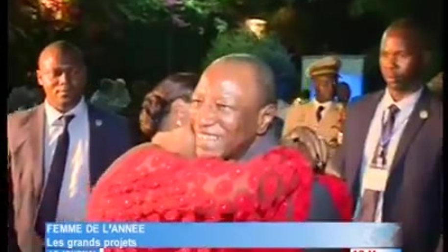 Prix de la Femme de l'année 2017 - Distinction offerte par la Guinée