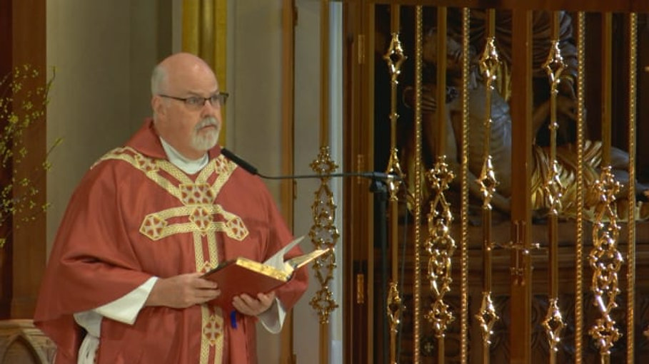 Mass from St. Agnes Cathedral - May 14, 2021