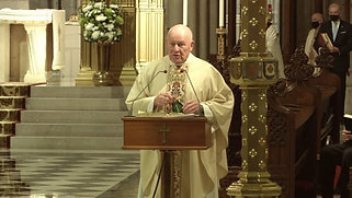 Mass from St. Patrick's Cathedral - May 13, 2021