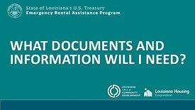 Required Documents and Information