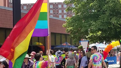 Ty Chum Attends Lowell Pride Parade