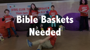 "Make a ""Bible Basket"" for Local Kids"