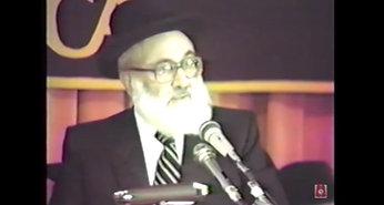 Rav Weinberg ztl 1987