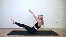 21 min - Ab and Oblique Focused Full Body Pilates - Intermediate
