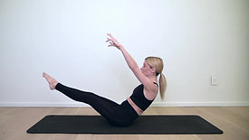 21 min - Ab and Oblique Focused Full Body Pilates - Intermediate