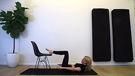 23 Min - Arms and Abs - Intermediate Pilates with Chair Used as Prop