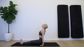 5 Min Grounding and Stretch with Breath