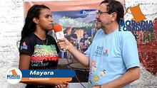 Entrevista com Mayara, percussionista da Banda Afro Dendê