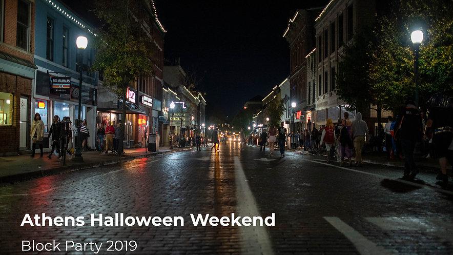 Ohio University Halloween