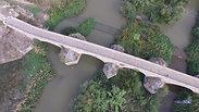 Ponte romano. L'arrivo nel meridione oltre Napoli