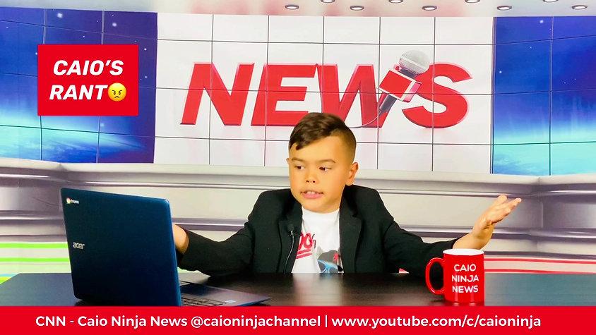 CNN - Caio Ninja News | Episode 40