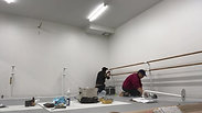 ASIA BALLET AGENCY 床固定式スタンド2段取付