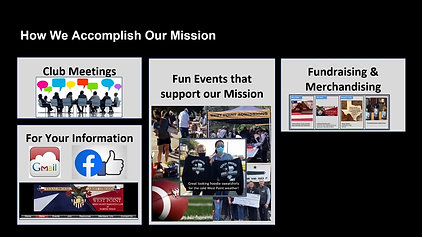 How we accomplish our mission