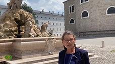 Wie die Schriftsteller Salzburg erlebten erzählt Jutta