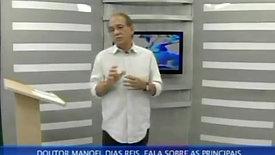 O psiquiatra Dr. Manoel Dias Reis fala sobre Stress - A doença do século - Parte 3
