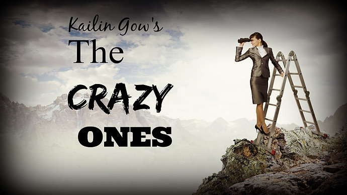 Kailin Gow's The Crazy Ones - Episode 3 - Literature Leads the Way Part 2 - Reading for Real People and Amazon as Innovator