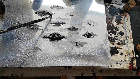 Gravure_dessin au sucre directement sur la plaque