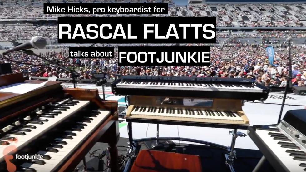 Footjunkie - Mike Hicks