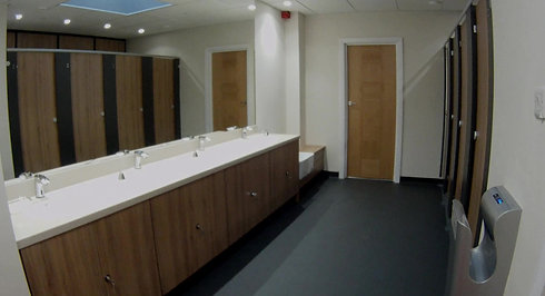 Locker Room for Brian Bamford-