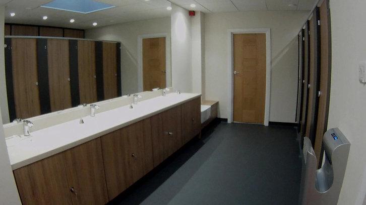 Locker Room for Brian Bamford-