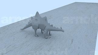 Porcelain Dino