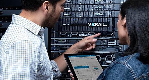 Transforme su TI gracias a VxRail.